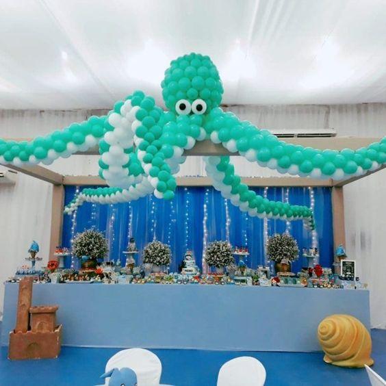festa fundo mar decoracao 4