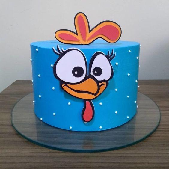 festa galnha pintadinha bolo 1