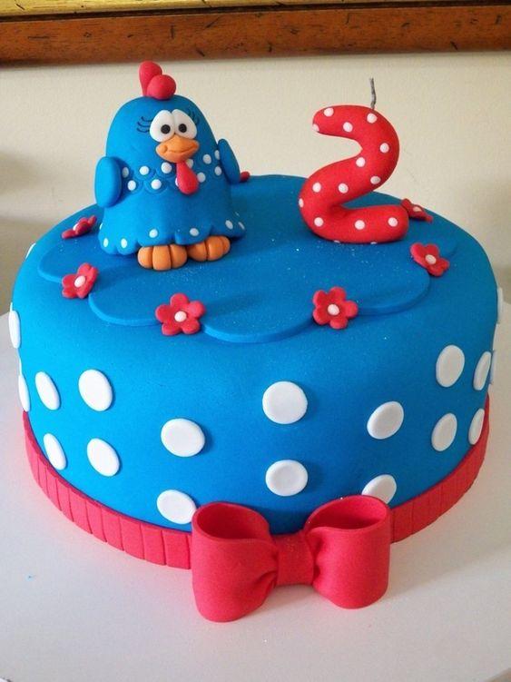 festa galnha pintadinha bolo 3