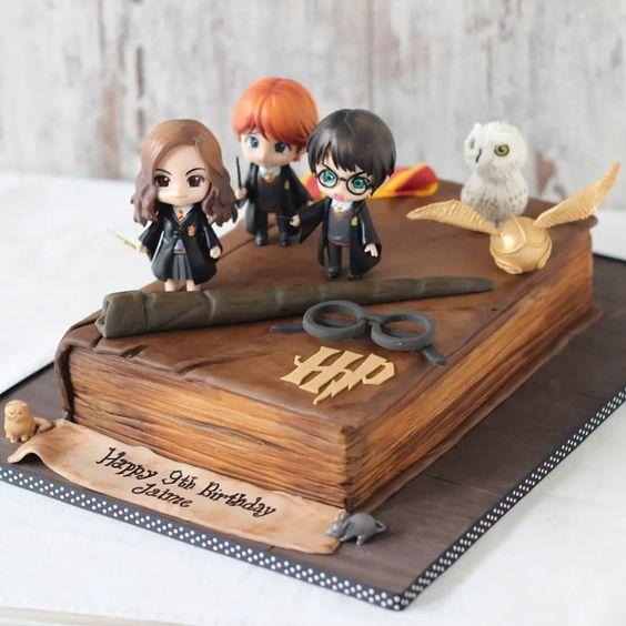 festa harrypotter bolos 4