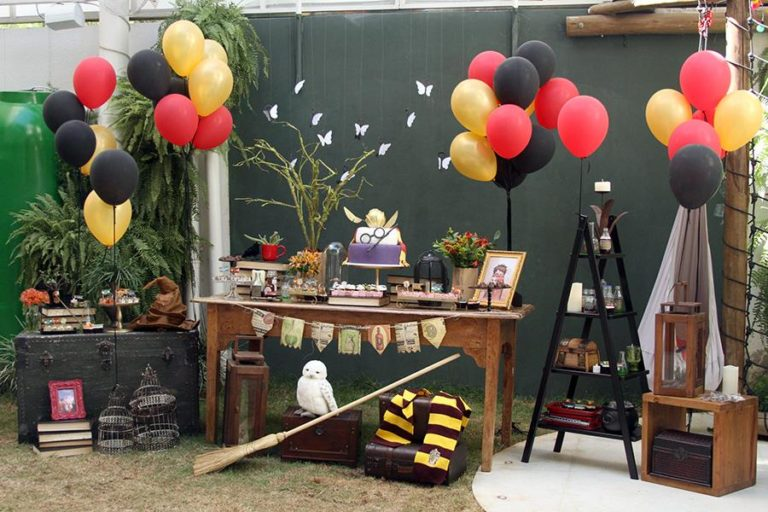 festa harrypotter decoracao 1