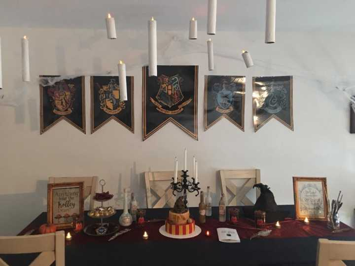 festa harrypotter decoracao 2