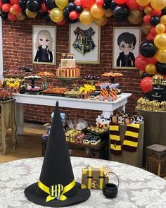 festa harrypotter decoracao 4