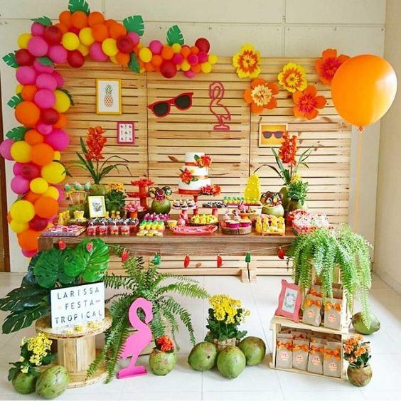 festa havaiana