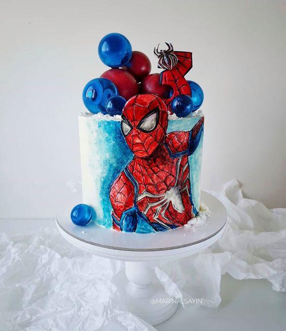 festa homem aranha bolos 2