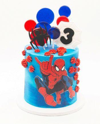 festa homem aranha bolos 3