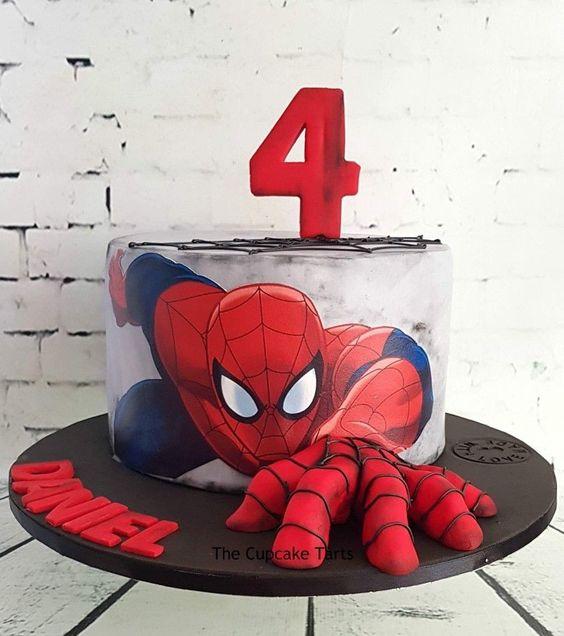 festa homem aranha bolos 4