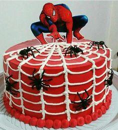 festa homem aranha bolos 5