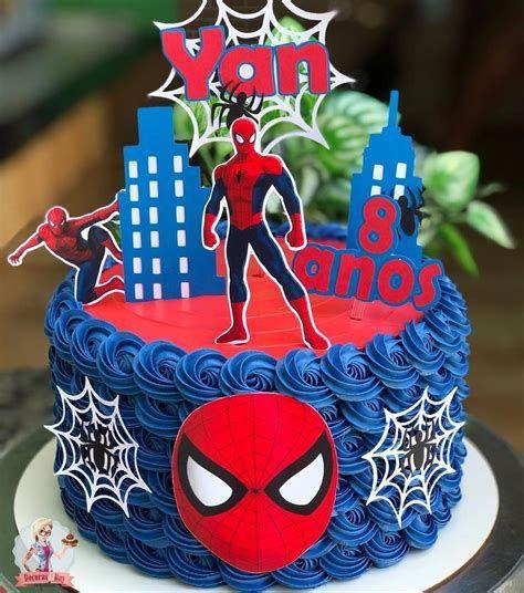 festa homem aranha bolos 6