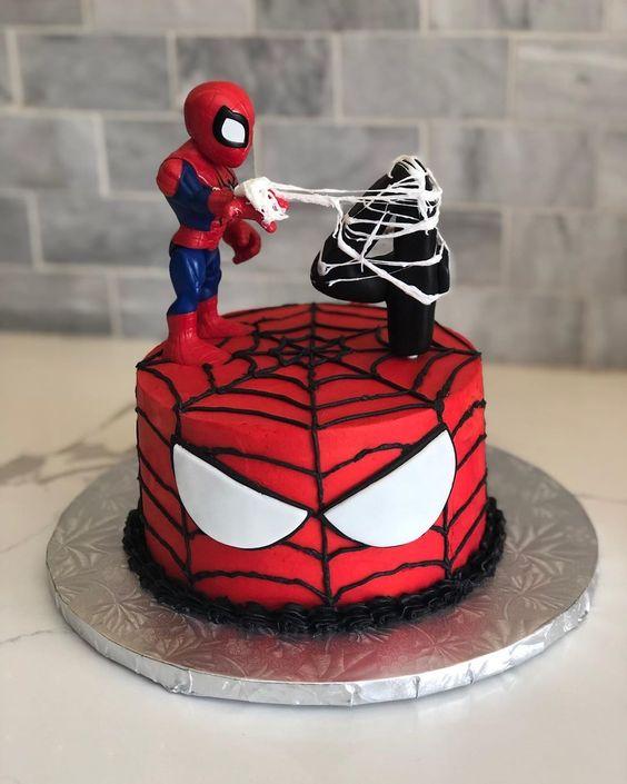 festa homem aranha bolos