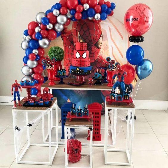 festa homem aranha decoracao 2