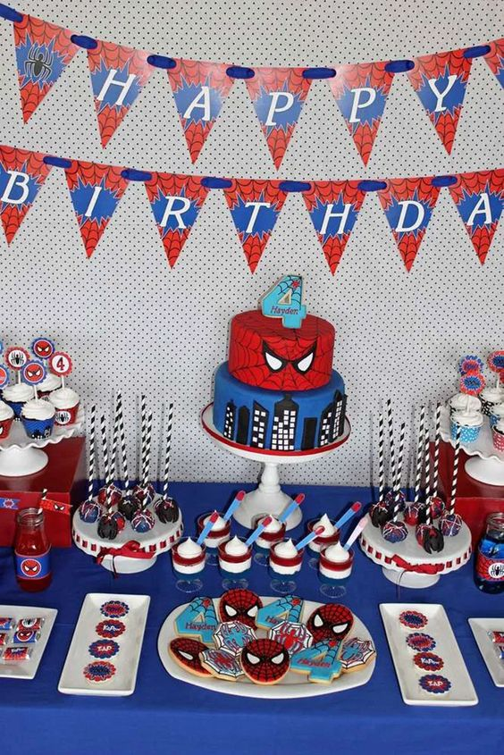 festa homem aranha decoracao 3