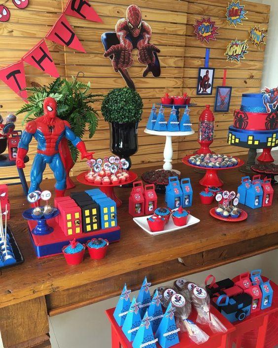 festa homem aranha decoracao 5