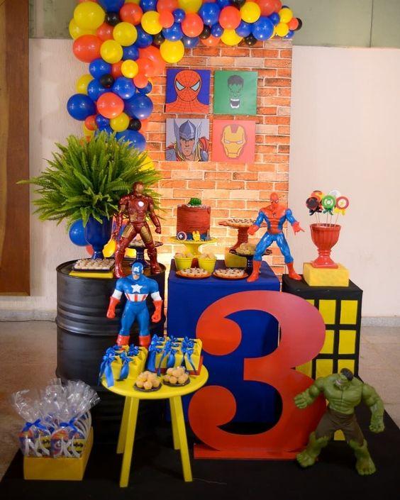 festa homem aranha decoracao 6