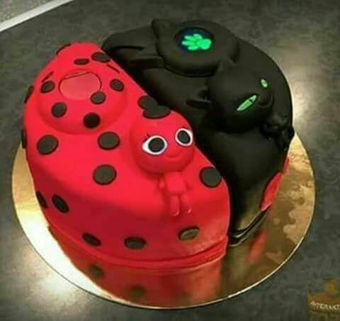 festa ladybug bolo 4