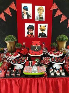 festa ladybug decoracao 1