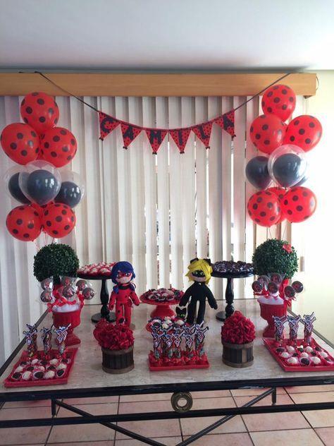 festa ladybug decoracao 2