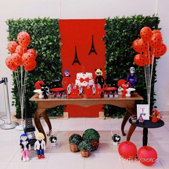 festa ladybug decoracao 3
