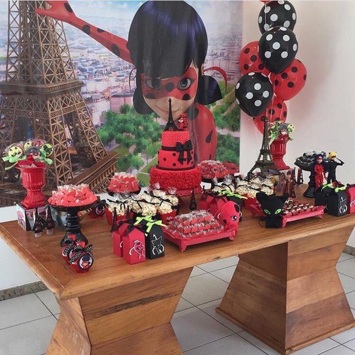 festa ladybug decoracao 4