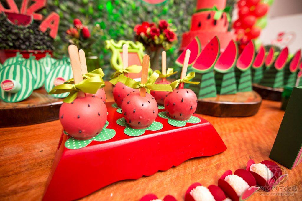 festa melancia docinhos