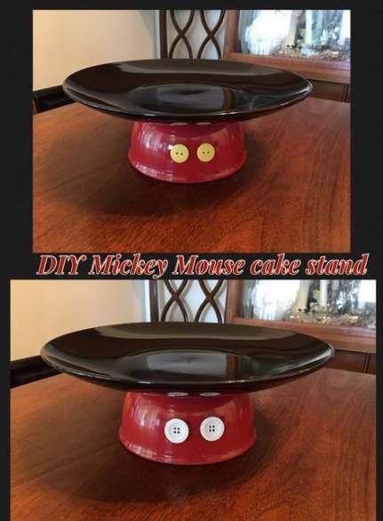 festa mickey diy base bolo