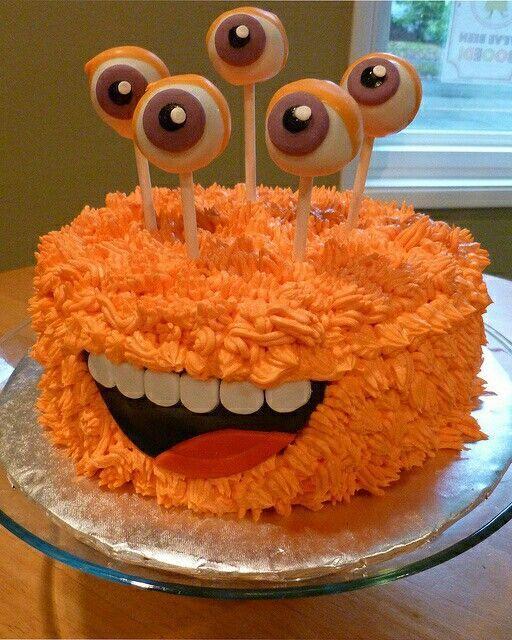 festa monstrinhos bolo engracado