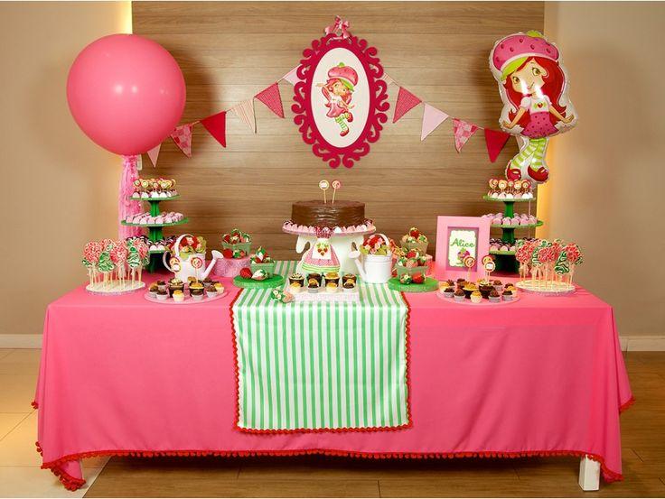 festa moranguinho decoracao 2