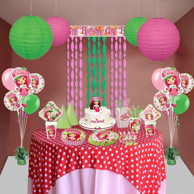 festa moranguinho decoracao 4