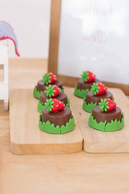 festa moranguinho doces 1