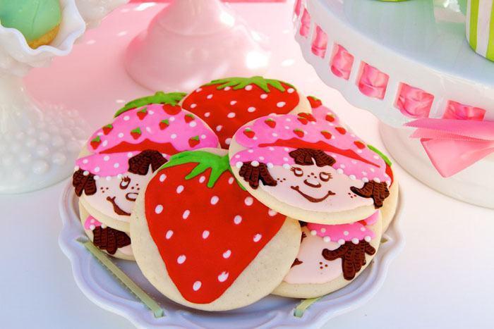 festa moranguinho doces