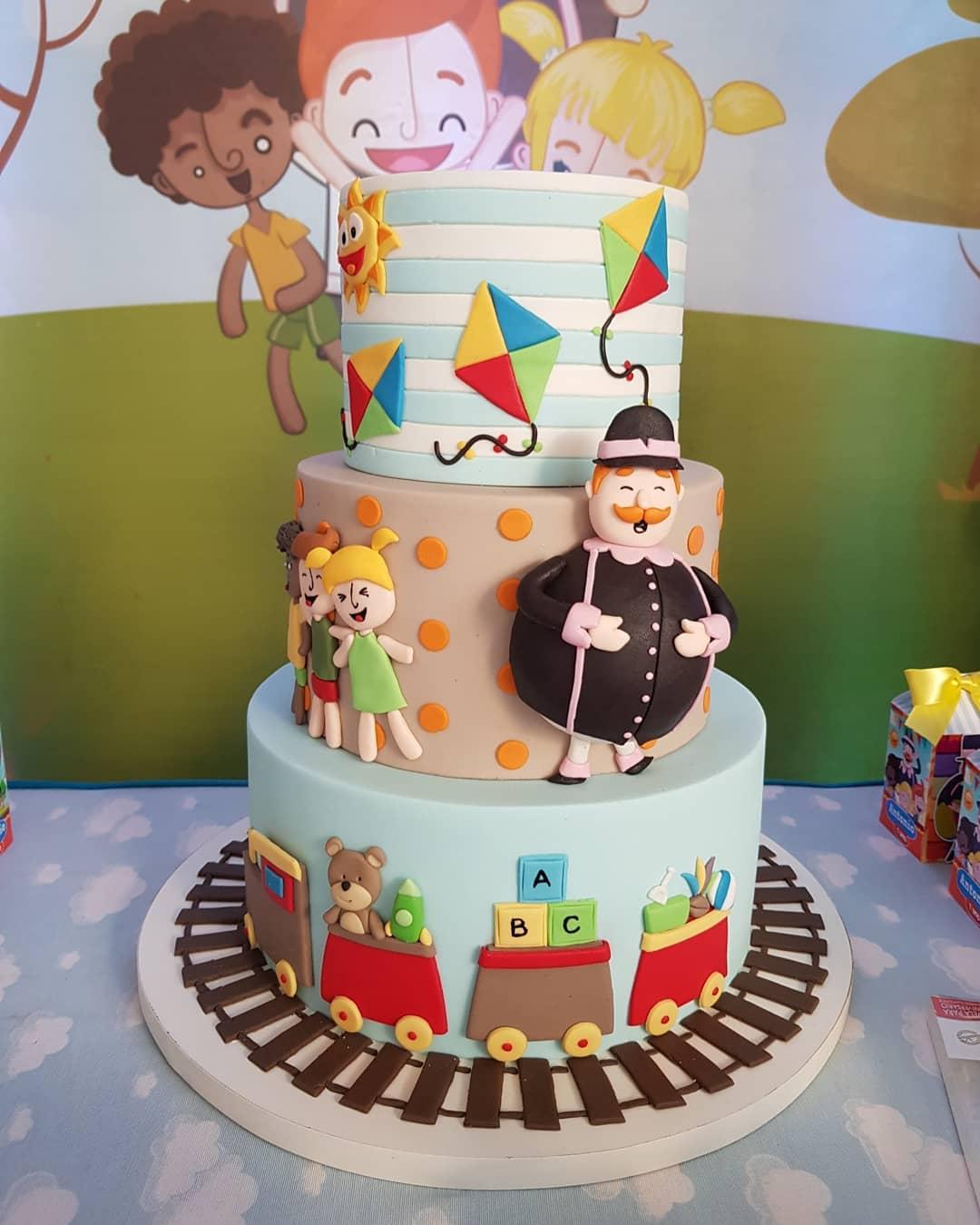 festa mundo bita bolos decorados