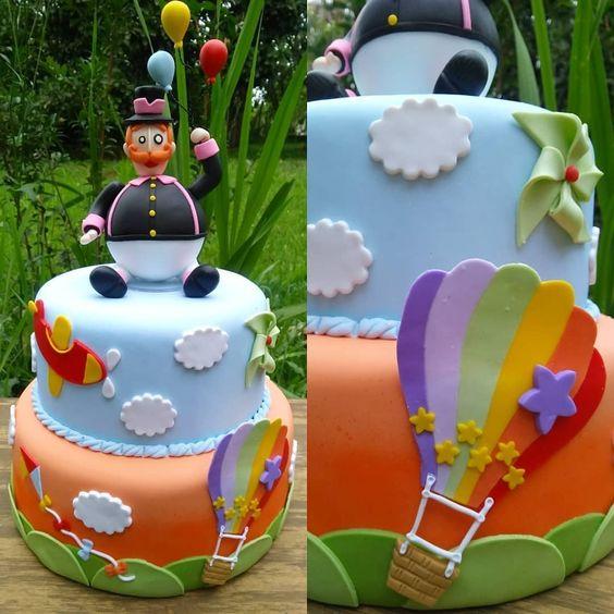 festa mundo bita bolos ideias