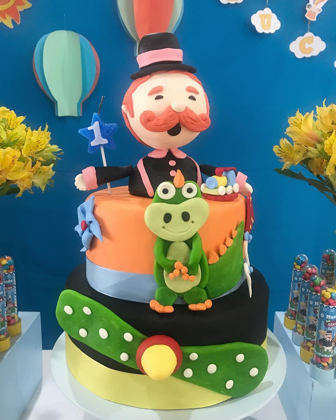 festa mundo bita bolos inspiracao