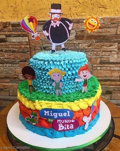 festa mundo bita bolos