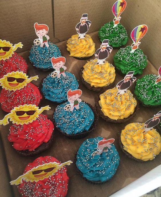 festa mundo bita docinhos cupcakes