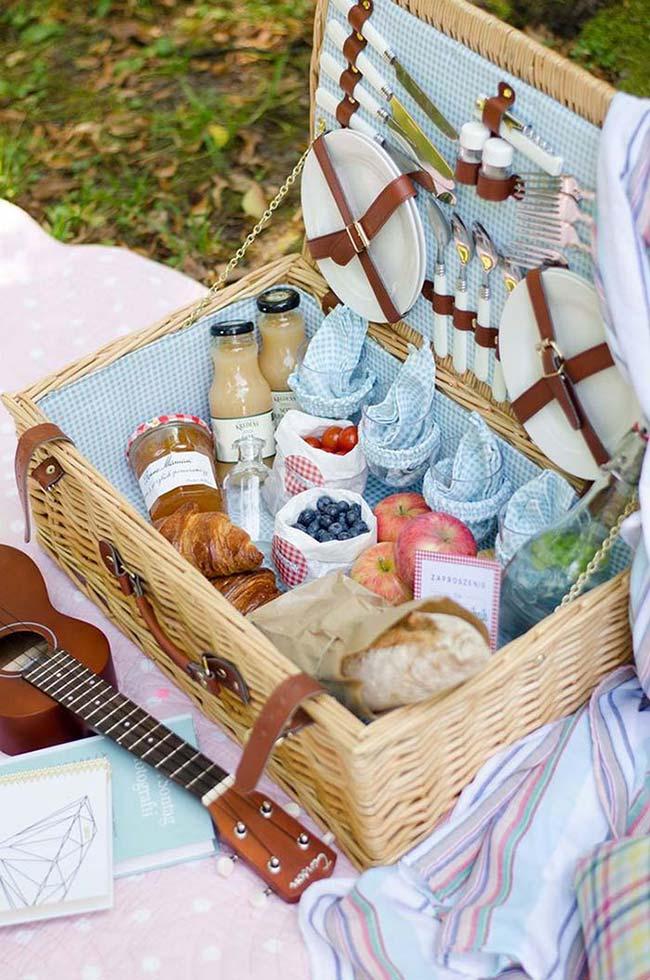 festa na caixa cafe manha cesta