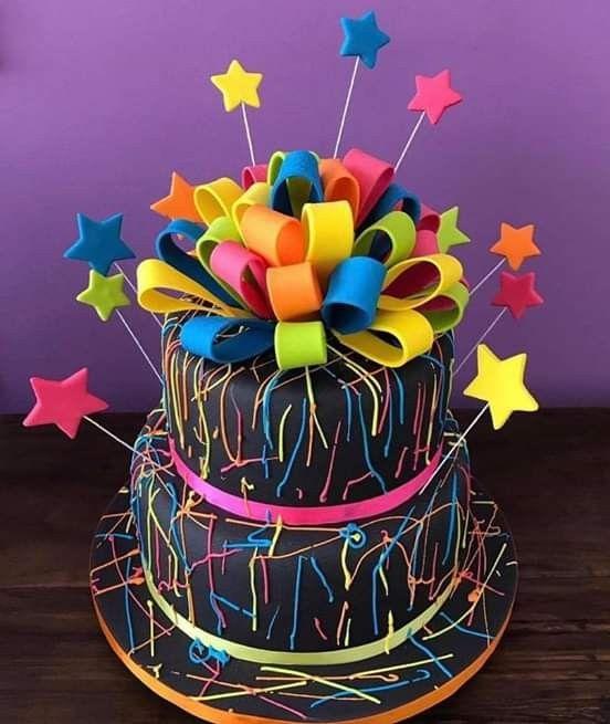 festa neon bolo 2