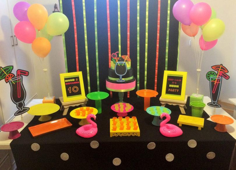 festa neon decoracao 1