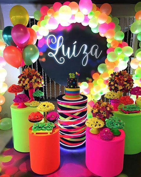 festa neon decoracao 2