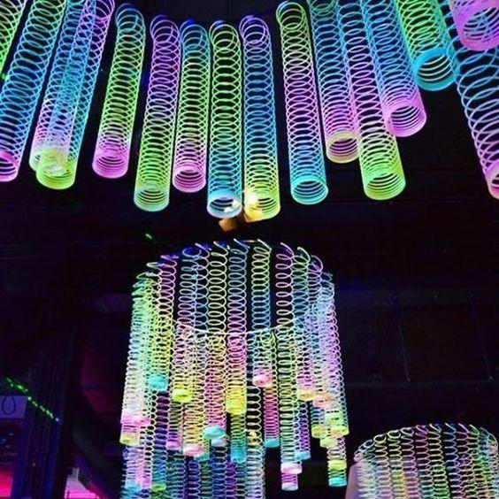 festa neon ideias criativas 1