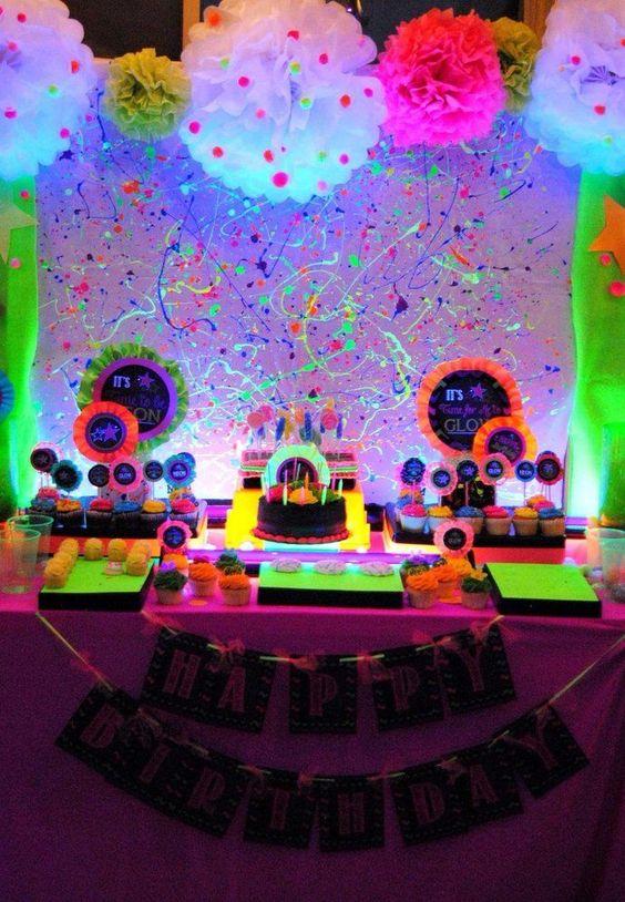 festa neon ideias criativas 3