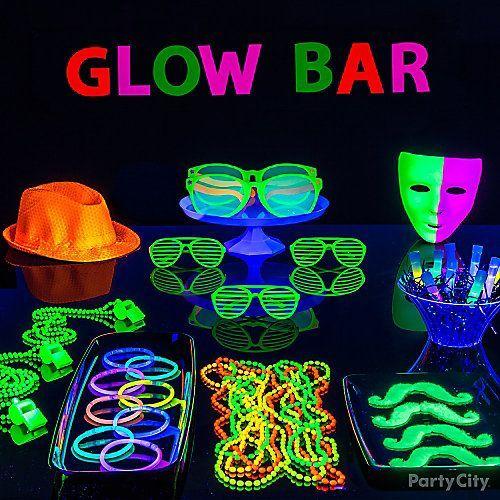 festa neon ideias criativas