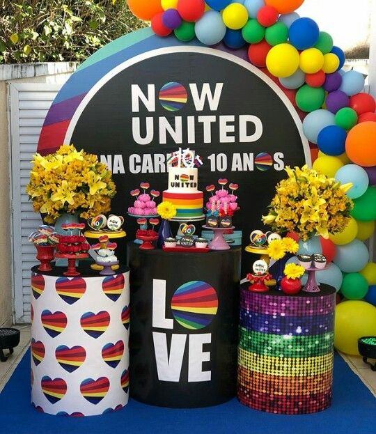festa now united decoracao 2