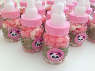 festa panda rosa ideias lembrancinha