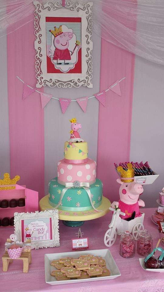 festa peppa pig bolo