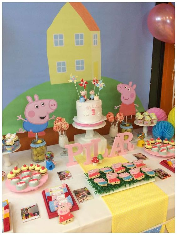 festa peppa pig decoracao