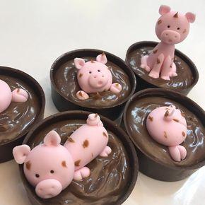 festa peppa pig docinhos chocolate