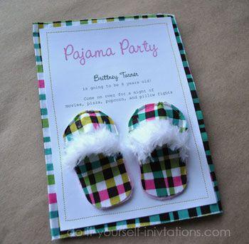 festa pijama convite 3