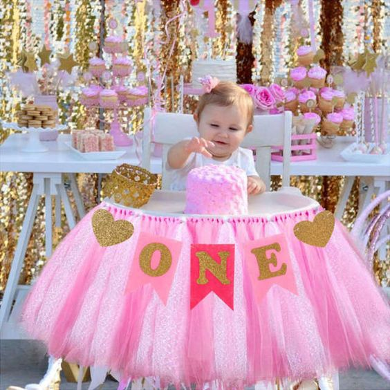 festa primeiro aniversario menina 1