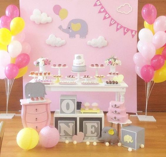 festa primeiro aniversario menina 2